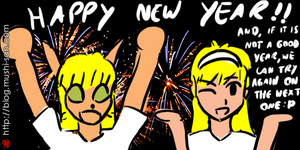 Happy New Year!! Feliz Ano Novo!! by mushisan