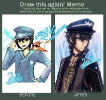 Vincent - Before after meme by Renciel