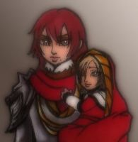 Hilde and Dorothea by BeagleTsuin