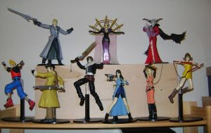 Final Fantasy VIII Play Arts by zelu1984