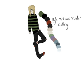 CP OC: Kyle's Extra clothing by Rupaint-x