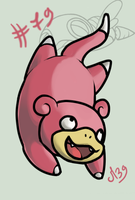 Slowpoke or Ramoloss by Mad-Stalker