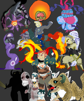 Ocarina of Time Bosses by PokemonMaster04
