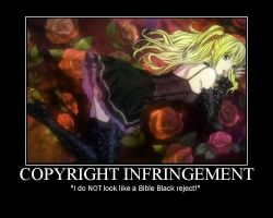 Misa Amane, Bible Blackreject? by spectrevampire