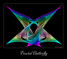 Fractal Butterfly by DarkRaven1