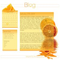 Orange Blog by parodyofapathy