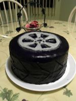 Tire Cake by PnJLover