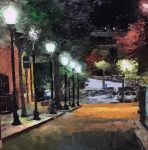 Court Street at Midnight by Jonathan-Moore