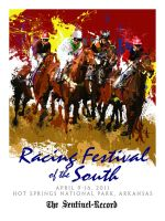Racing Festival of the South poster by Kapow2003