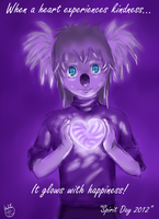 Glowing Heart, Glowing Spirit by hkepoetry