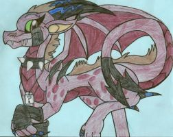AT: Tizzii Dragon by dragonpop1