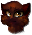 Brambleclaw (more Painterly experiments) by Spottedfire-cat