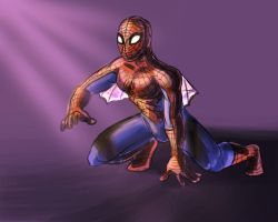 Itsy Bitsy Spider-Man by avidcartoonfans