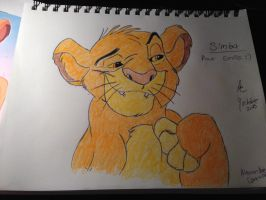 Simba, The Lion King (Better version) by MrSoraKeyblader