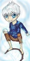 Chibi Jack Frost by Checker-Bee