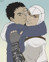 Malik and Altair: Stop they are looking by vangberg