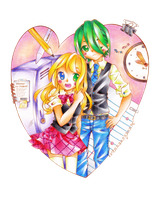 School LOVE by Colorful--Melody