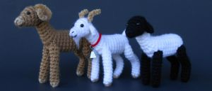 Ram, Goat, Sheep (Pattern Available) by Pickleweasel360