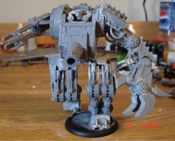 Unpanited Defiler Stompa by Anonypotomous