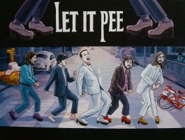 """Let It Pee"" by davidmacdowell"