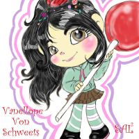 Wreck-It-Ralph: Vanellope Von Schweetz by SweetlyAddicted