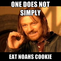 one does not simlpy eat noahs cookie by ThatPonyUknow