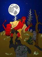 Hellboy by Wakeangel2001