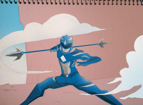Blue Ranger #1 by PInoy01