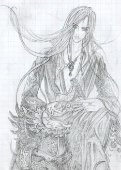 My Art on Art Heise Jinyao by Princess-Milisenta