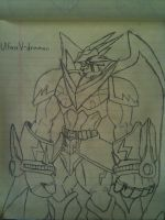UlforceV-dramon Drawing by Omnimon1996