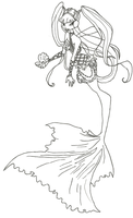 Winx Club Mermaid Musa coloring page by winxmagic237