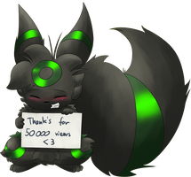Thanks for 50000 by TheRealPhoenix