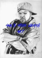 Ice Cube by The-Art-Kid
