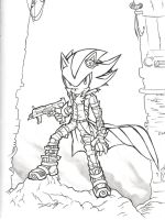 Shadow Line Sketch by Windhover07