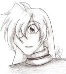 Pencil Sketch Gourry by GourrySylphiel