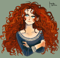 Merida by mrmssb