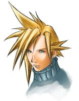 Cloud Strife by mattica