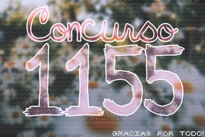 Concurso 1155 Watchers, Gracias! by Yahi-m