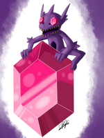 Mega Sableye (improved) by Draareg