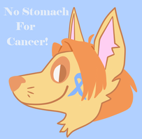 No Stomach for Cancer in 2015! by the-fox-after-dark