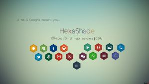 Hexashade Icon Pack by aditya2611