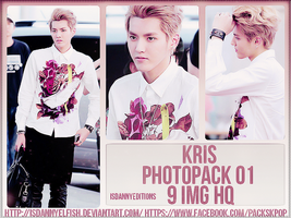 Kris (EXO) - PHOTOPACK#01 by JeffvinyTwilight