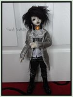 SOLD $555 Ball Joint Doll - Winter by Sarah-Vafidis