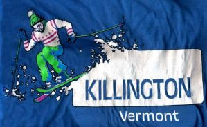 Killington T-shirt by mikeandrickgraphics