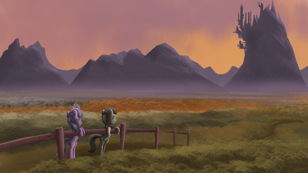 The View of Canterlot by Robsa990