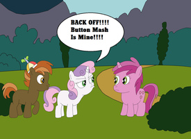 Button Mash Is My Colt Friend by equestriaguy637