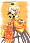 O.Daughter Of Evil.O -Kagamine Rin + Speed Paint by XxJadeSilver