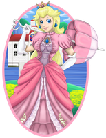 Princess Peach by Tee-J