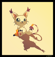 Gatomon by cappydarn