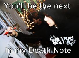 Sehun's death note by Akai-Leech
